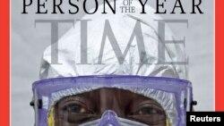 Либерийский хирург доктор Джерри Браун на обложке журнала Time.