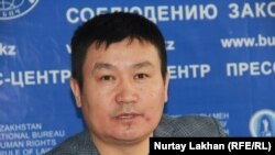 Ырысбек Токтасын, руководитель общественного объединения «Ел-аманат».