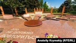 Мемориал жертвам депортации 1944, Симферополь, 18 мая 2020