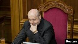 Украина Президенти вазифасини вақтинча бажараётган А.Турчинов.