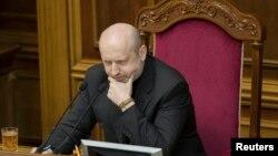 Исполняющий обязанности президента Украины Александр Турчинов.