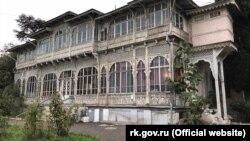 Корпус бывшего санатория «Киев» по улице Чехова в Ялте