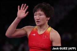 Айсұлу Тыныбекова Токио олимпиадасында. 3 тамыз 2021 жыл.