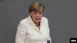 Germaniýanyň kansleri Angela Merkel, Berlin,28-nji iýun, 2016
