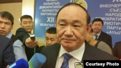 Али Бектаев, председатель партии «Ауыл».