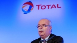 Total CEO Christophe de Margerie