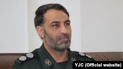 File photo - Ali Akbar Karimpoor, IRGC public relations officer in Hamedan.