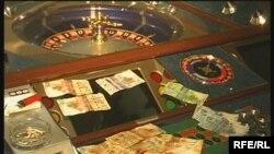 Сырты дүкен казинодағы сыйқырлы рулетка. Теміртау, қазан , 2008 ж.