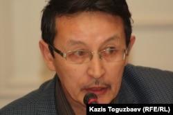 Гражданский активист Марат Жанузаков.