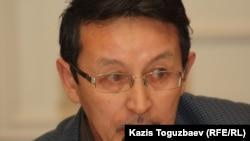 Марат Жанузаков, гражданский активист. Алматы, 13 декабря 2012 года.