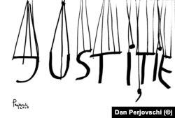 Dan Perjovschi, Păpușarii Justiției