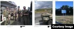 Воронеж (слева) - трасса М4 (центр) - Миллерово (справа)