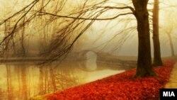 Есен во Скопје.