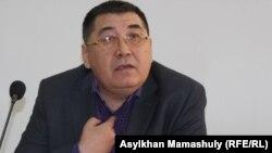 Журналист и бывший предсадатель партии ОСДП Ермурат Бапи.