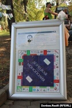 Донецкая «Монополия»: на полях игры – названия предприятий, часть из которых не работает, а часть отобрана сепаратистами