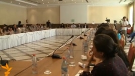 Armenia - Lawyers meet in Yerevan after going on strike in protest against the Court of Cassation, 10Jun2013.