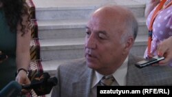 Депутат, руководитель делегации Армении в ПА ОБСЕ Арташес Гегамян