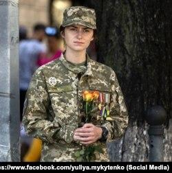 Після загибелі чоловіка молодший лейтенант не покинула військо, але перевелася з бойового підрозділу