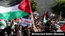Protest u Gazi 28. januara