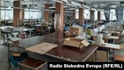 Затворена текстилна компанија поради пандемијата од корона вирусот.
