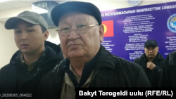 Каныбек Осмоналиев. Архивдик сүрөт.
