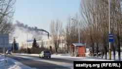 «Умный» город Акколь, административный центр Аккольского района Акмолинской области. 30 ноября 2020 года.