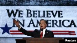 Выступление Митта Ромни на съезде Республиканской партии США. 30 августа 2012 г