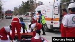 امداد رسانی به تهران در زمین لرزه فرضی