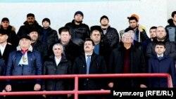 В Симферополь приехали участники автопробега из Дагестана, 30 января 2015 года