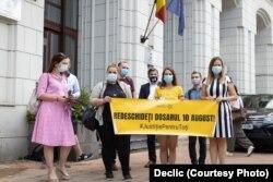 Reprezentanții societății civile cer redeschiderea dosarului