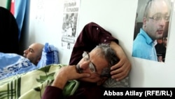 Голодовка азербайджанских журналистов в Баку, 24 октября 2010