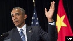 اوباما از اجلاس گروه ۲۰ در چین به لائوس رفته است تا با سران کشورهای جنوب شرق آسیا دیدار کند