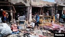 Пасьля выбуху ў Багдадзе