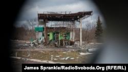 Краматорск-Дебальцево. Поездка по зоне АТО, 24 декабря 2014 года. Иллюстрационное фото