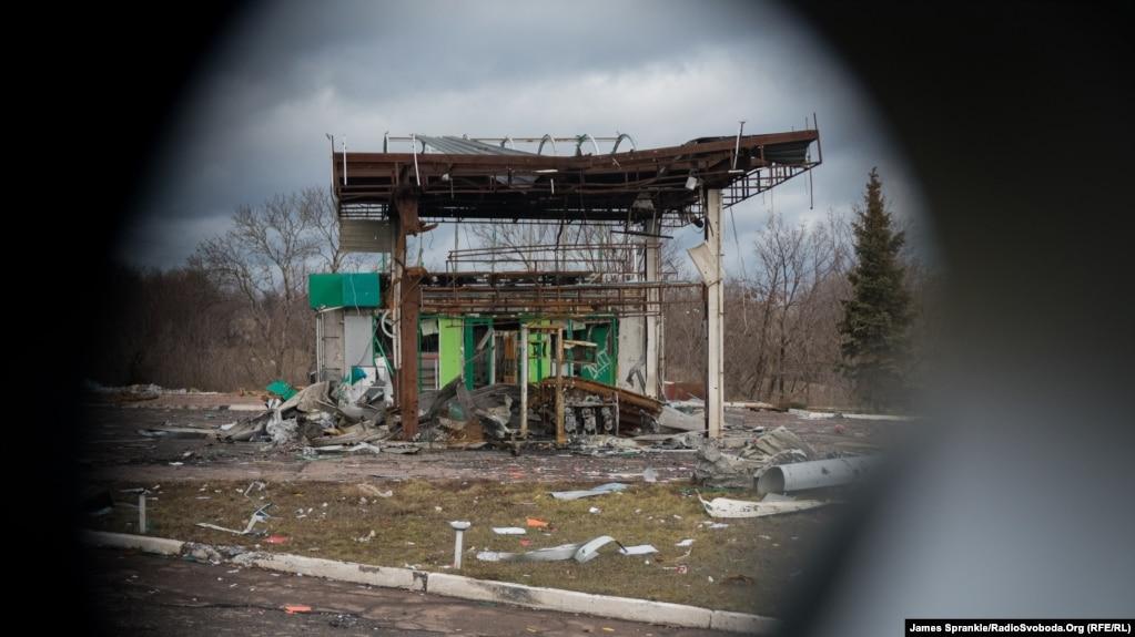 Краматорськ-Дебальцеве. Поїздка зоною АТО, 24 грудня 2014 року. Ілюстративне фото