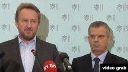 Bakir Izetbegović i Fahrudin Radončić