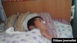 Фалокатдан 6 ой ўтиб Баҳодир ҳануз тўшакда қолмоқда.