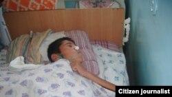 13 ёшли Баҳодир Пардаев 24 сентябрдан буён кома ҳолатида ётибди.