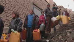 For Afghan Kids, Hauling Water Is A Living