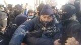 Kazakhstan - Election day - Protest