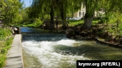Річка Салгир, 27 квітня 2017 року