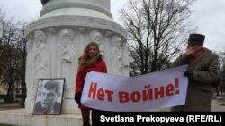 La un meeting în memoria lui Nemțov la Pskov