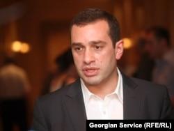 Ираклий Аласания, грузин саясаткері. Тбилиси, 30 маусым 2011 жыл