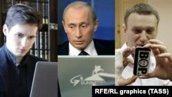 Putin - Durow - Nawalnyý
