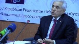 Tajik Foreign Minister Hamrohon Zarifi