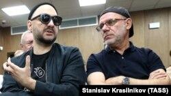 Кирилл Серебренников и Алексей Малобродский в суде
