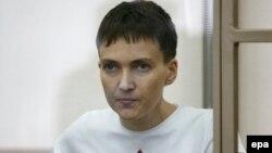 Надія Савченко на суді в Росії, 9 березня 2016 року