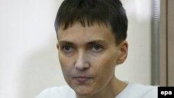 Украинская военнослужащая Надежда Савченко выступает с последним словом в суде. Донецк, 9 марта 2016 года.