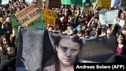 Protest protiv globalnog zagrijavanja u Rimu