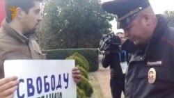Пикет в поддержку Евгения Витишко в Сочи